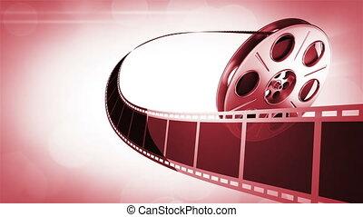 Cinema Background Red
