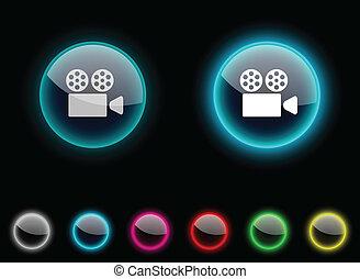 Cinema button.