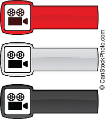 Cinema button.