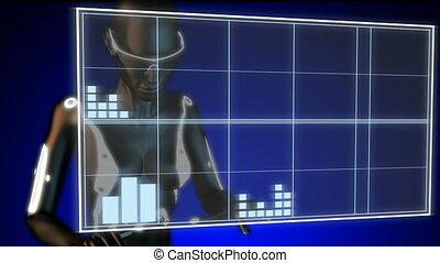 cinema clap on hologram