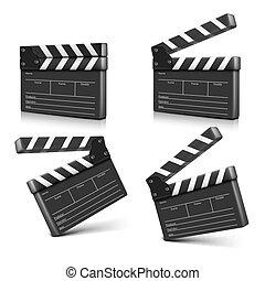 cinema clap. Vector illustration