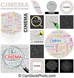 Cinema. Concept illustration.