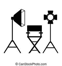 cinema director light