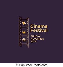 Cinema festival emblem