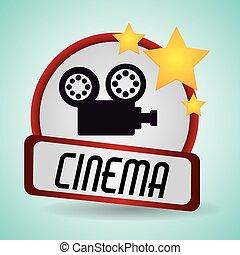 cinema film camera movie projector