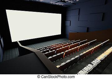 Cinema interior side
