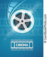 Cinema movie film - Cinema movie movie on disc and flaress. ...