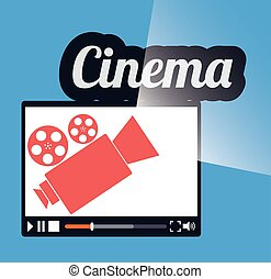 cinema online movie film projector