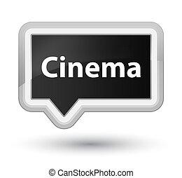 Cinema prime black banner button