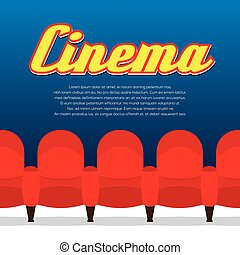 cinema, row., posti