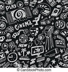 cinema - seamless background