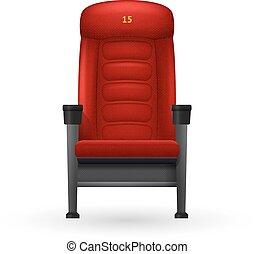 Cinema Seat Illustration