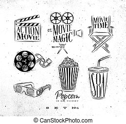 Cinema signs coal