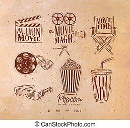 Cinema signs craft