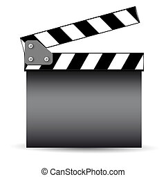 Cinema slate board