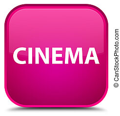 Cinema special pink square button