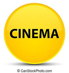 Cinema special yellow round button