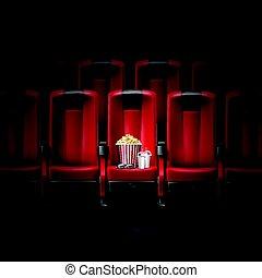 cinema, teatro filme