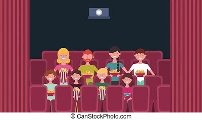 cinema theater related