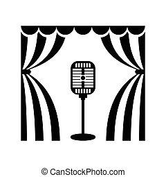 cinema theatre microphon