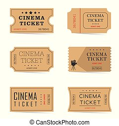 cinema ticket ancient