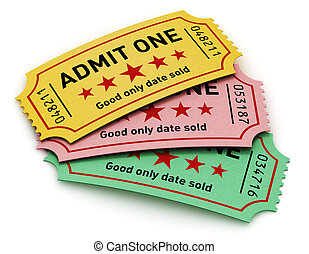 Cinema tickets - Cinema industry entertainment, film...