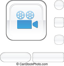 Cinema white button.