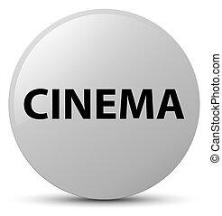 Cinema white round button