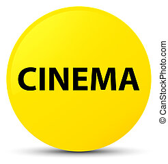 Cinema yellow round button