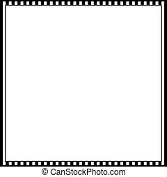cinematic, 35 mm, foto, película, marco