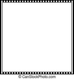 Cinematic 35mm Photo Film Frame