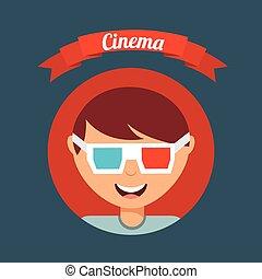 cinematographic hobby design, vector illustration eps10 graphic