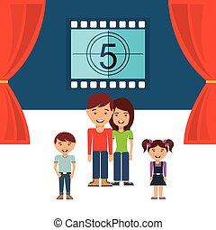 cinematographic hobby design, vector illustration eps10...