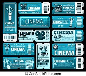 Cinematography movie festival, cinema tickets