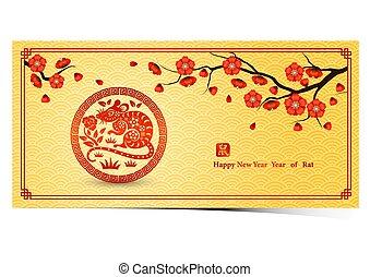 cinese, 2020, anno nuovo