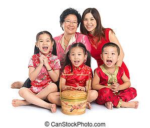 cinese, famiglia asiatica