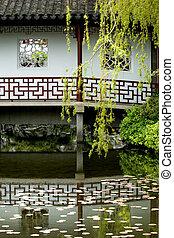 cinese, giardino