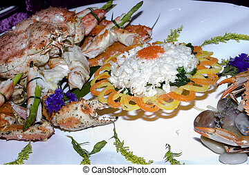 cinese, meal-crab