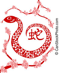 cinese, serpente, anno