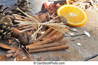 cinnamon and orange for dessert