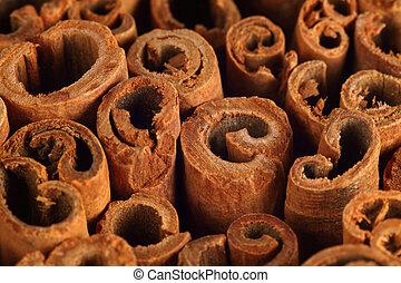Cinnamon background