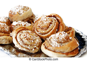 Cinnamon buns,