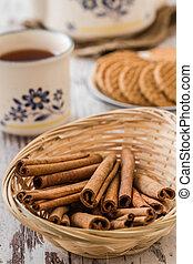 Cinnamon for Tea Time