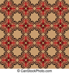 Cinnamon hot winter  pattern