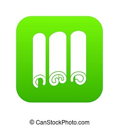 Cinnamon icon digital green