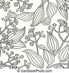 cinnamon seamless pattern