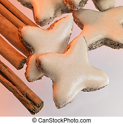 cinnamon stars and sticks