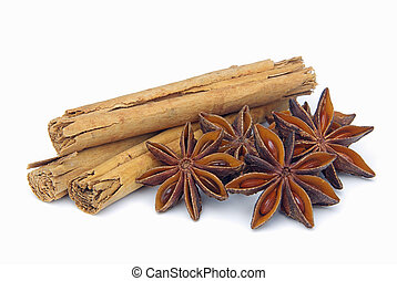 cinnamon stick and star from anis 01