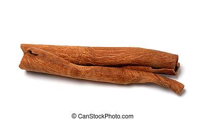 Cinnamon stick. Close-up view.