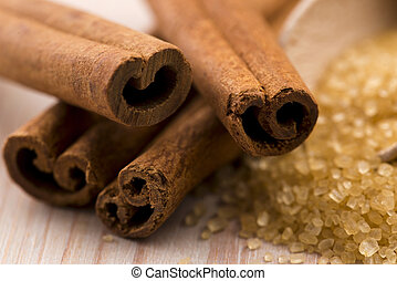 cinnamon with brown sugar
